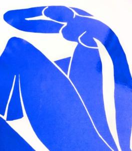 アンリ・マティス Henri Matisse作・BLUE NudeⅡのイメージ