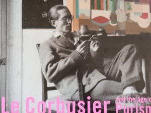 国立西洋美術館で2019年2月19日から同年5月19日まで開催されている「ル・コルビュジェ展」のフライヤーより。一部をカット。
